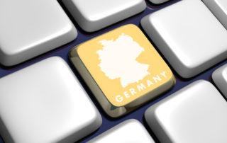 Deutschland Taste DSGVO Datenschutz