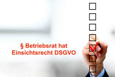 DSGVO Betriebsrat