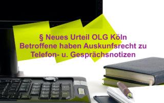 DSGVO Telefon- u. Gesprächsnotizen