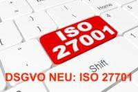 DSGVO Zertifizierung ISO 27701