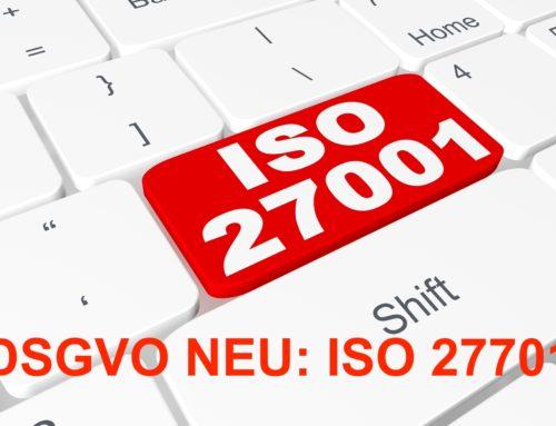 DSGVO – ISO 27701 Die Norm zum Nachweis der Einhaltung datenschutzrechtlicher Vorschriften veröffentlicht
