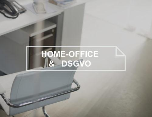 DSGVO – Pandemie Coronavirus – Richtlinien & Maßnahmen zum Homeoffice