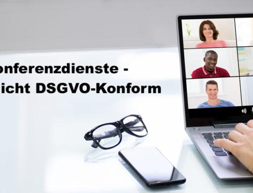 DSGVO – TEST Videokonferenzdienste – TEAMS & ZOOM nicht DSGVO-Konform