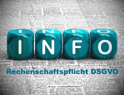 DSGVO – Was sagt die DSGVO zur Rechenschaftspflicht?