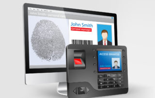 DSGVO Zeiterfassung Fingerabdruck