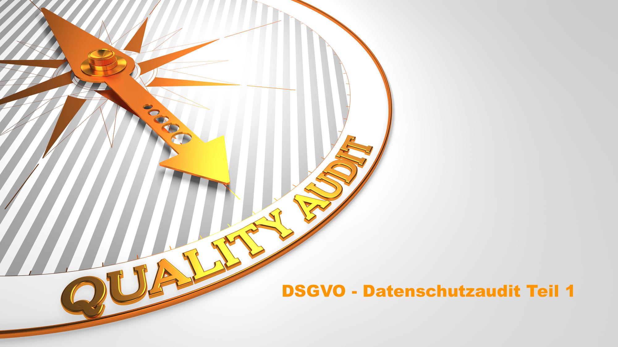 DSGVO Datenschutzaudit